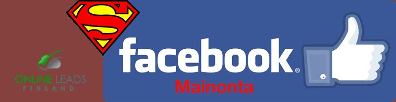 Facebook-mainontaa ja Supermarkkinointia