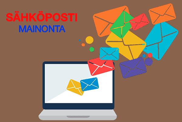 Sähköpostimainonta ja markkinointi tuo tuloksia kustannustehokkaasti.
